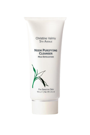 Christine Valmy Neem Purifying Cleanser, for daily cleansing and exfoliation.
