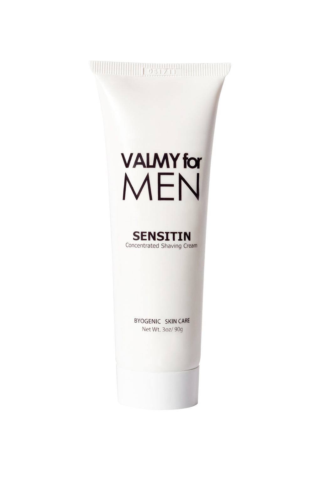 Christine Valmy Sensitin, soothing shaving cream for men.
