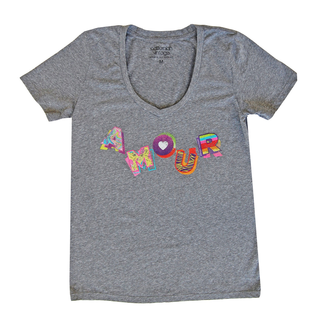 Amour V-Neck Tee