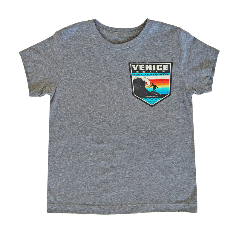 Barrel Crew Neck Tee