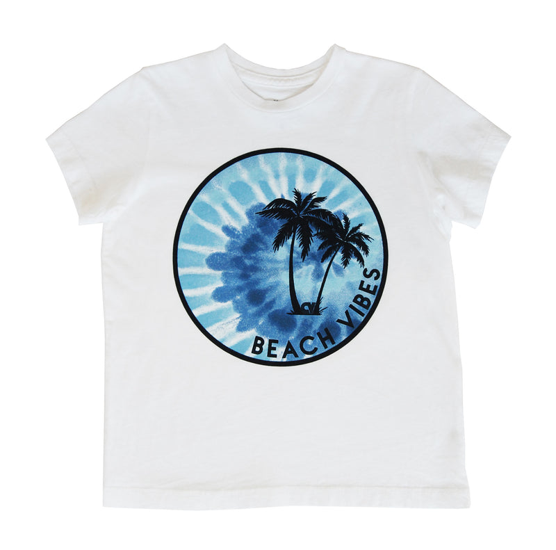 Beach Vibes Crew Neck Tee