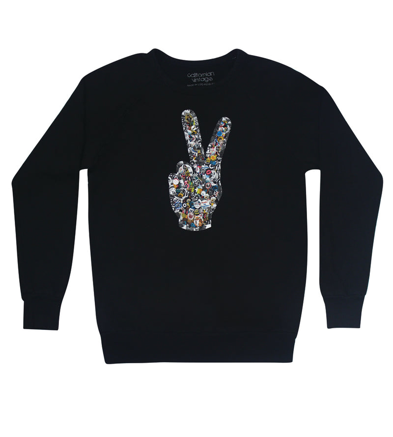 Pins Crew Neck Sweatshirt