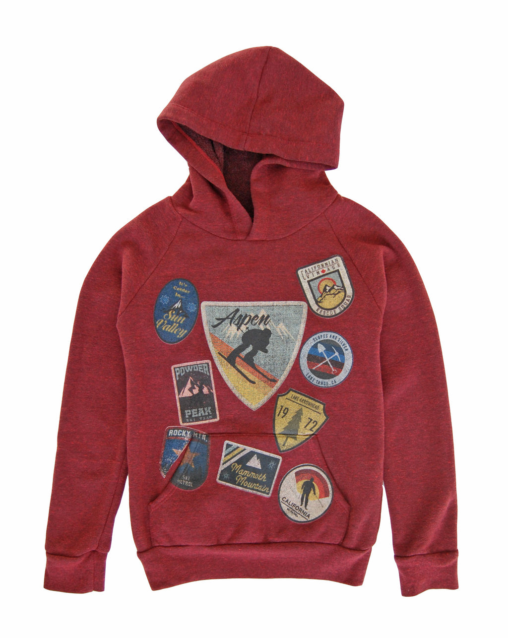 Ski Patches Hoodie