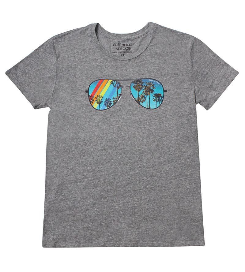 Heather Grey Surf Up Tee