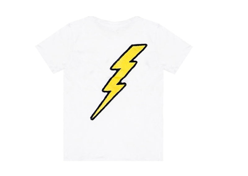 Lightning patches crew Neck Tee
