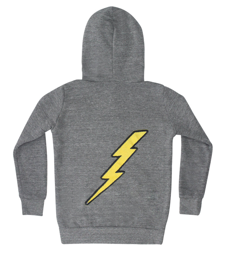 Lightning Patches Zip Hoodie