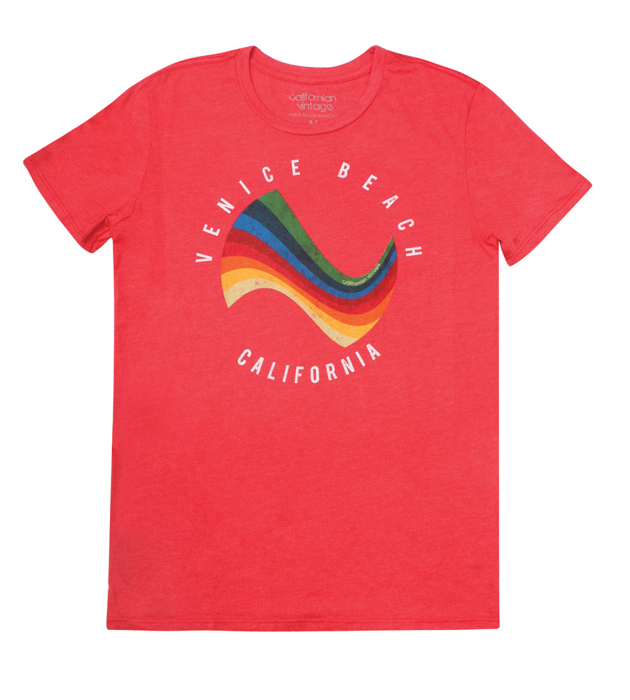 Red Surf Tee