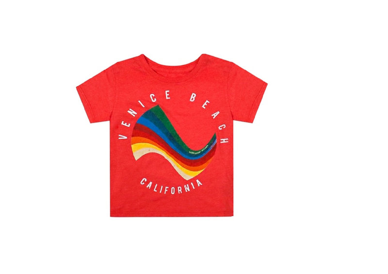 Surf Red Tee