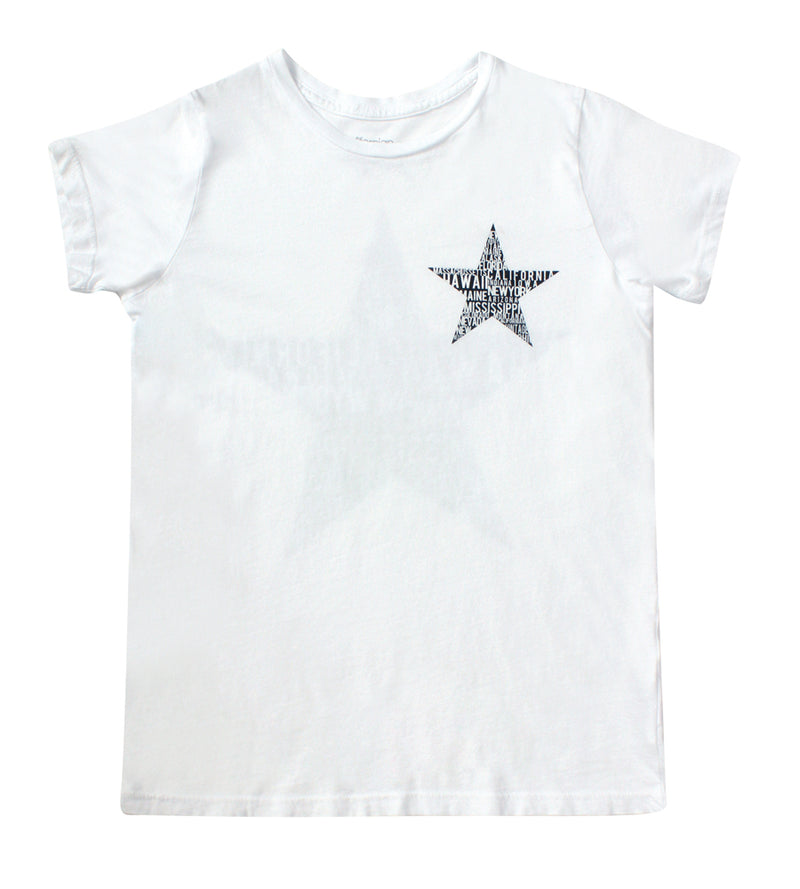 Messenger Crew Neck Tee