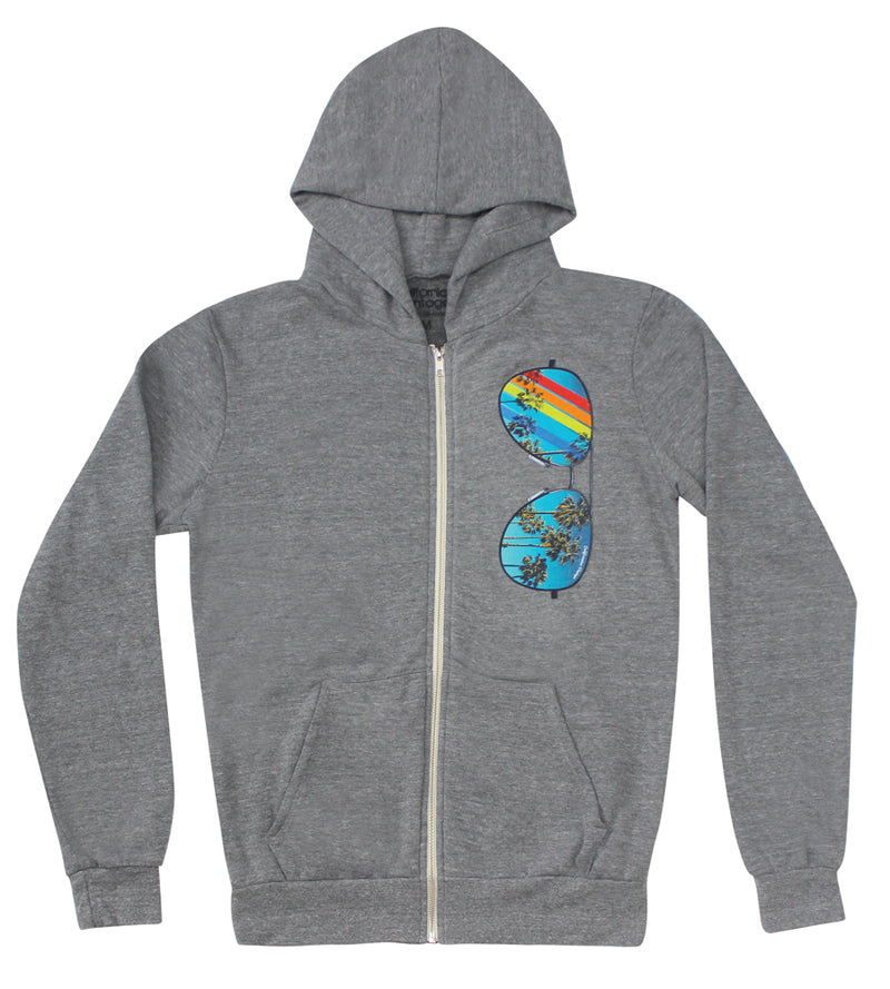 Winter Shape Zip Up Hoodie