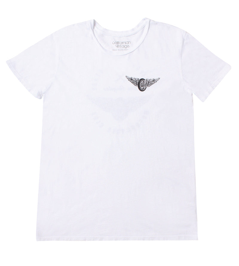 White Wings Tee