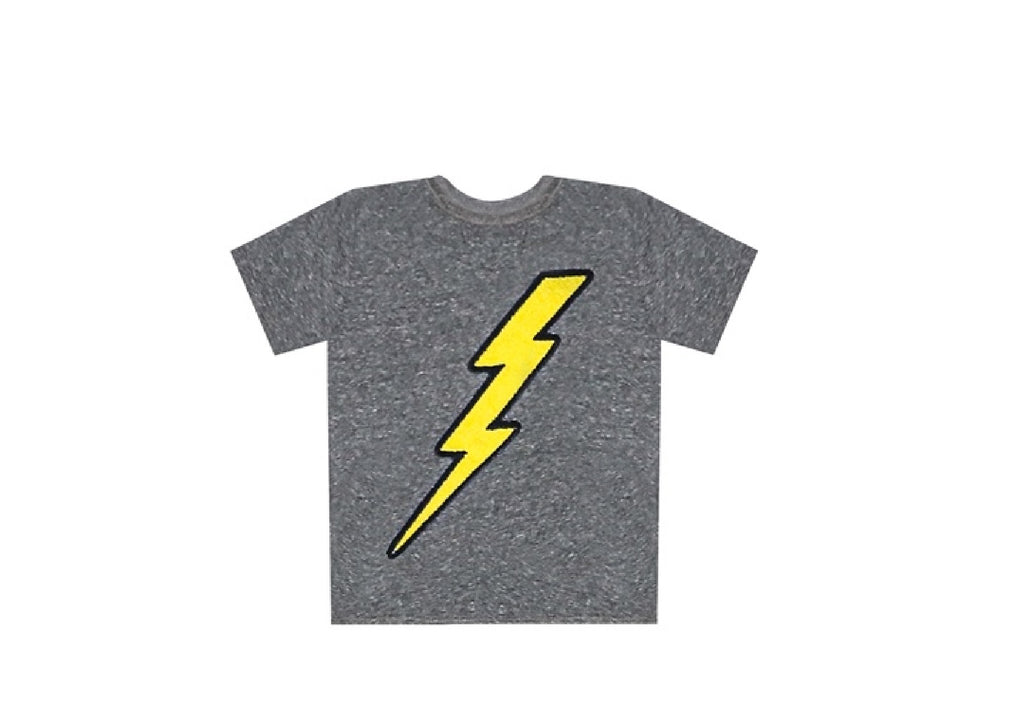 Lightning Patches Crew Tee