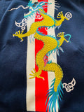 Gucci Web Dragon Appliqué Sweater Sz 52