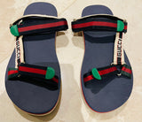 Gucci Bedlam Logo Strap Men's Sz 12