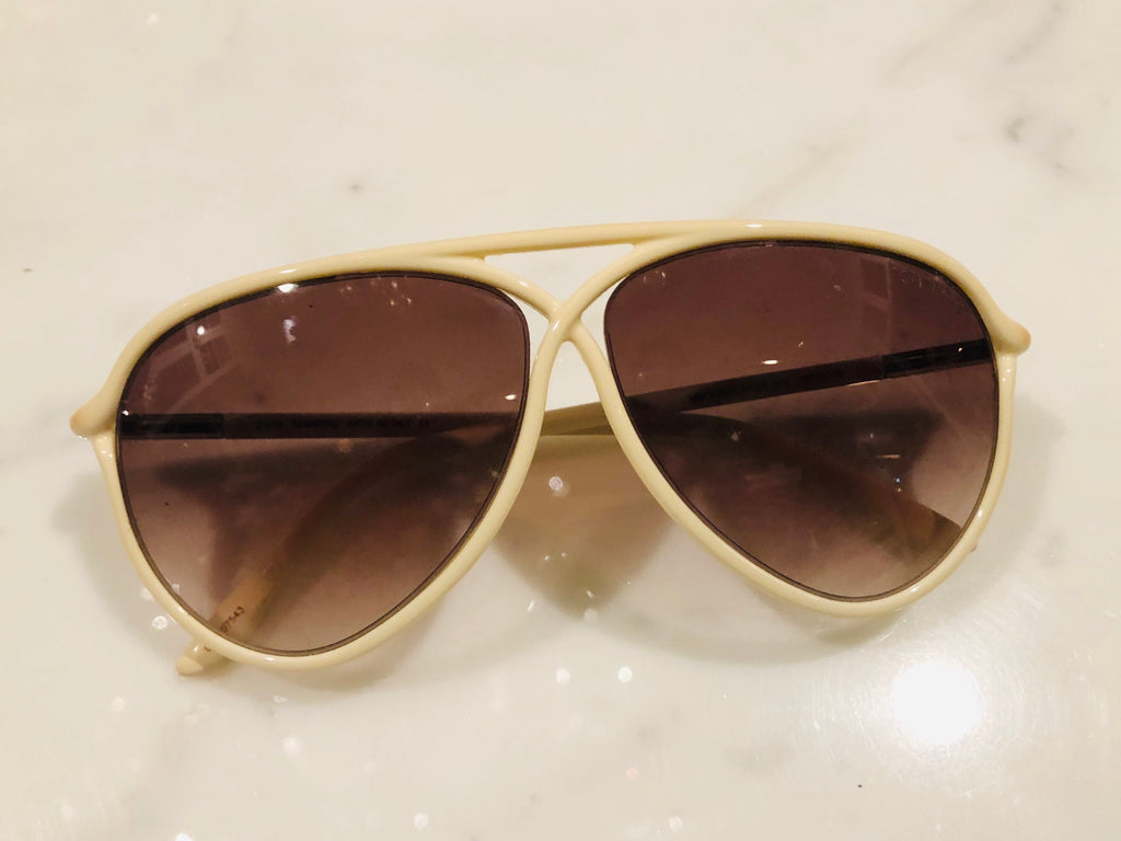 Tom Ford Maximillion Ivory Sunglasses