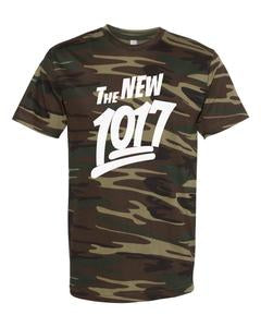 The New 1017 White Logo Camo T-Shirt
