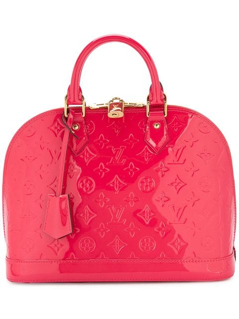 Louis Vuitton Vintage Pink Vernis Alma Bag