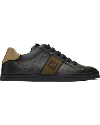 Fendi Black Forever Sneakers Sz 12/11
