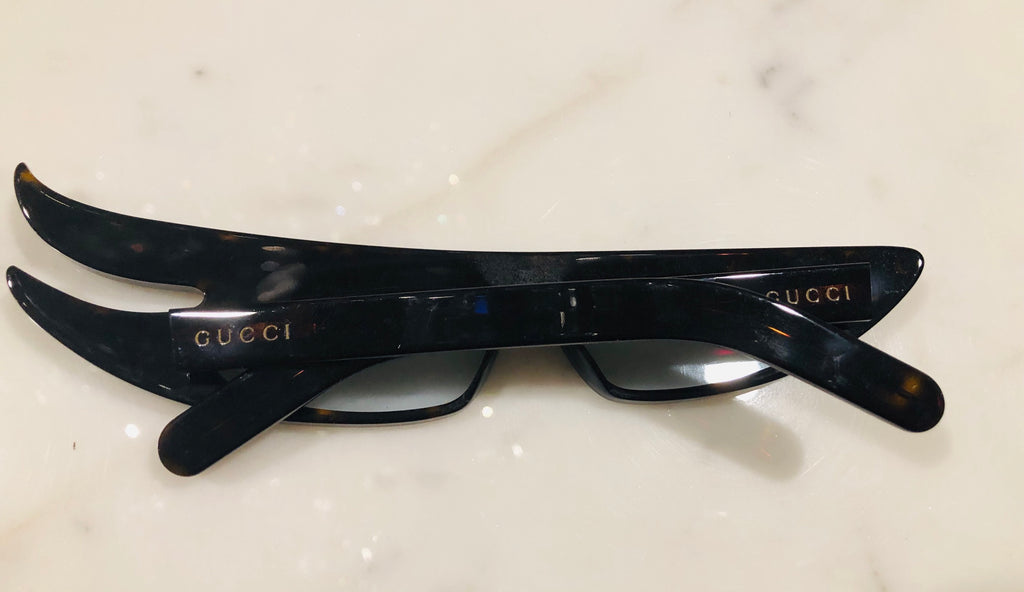 Gucci Flash Asymetrical Crystals Sunglasses