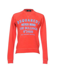 Dsquared2 Red Nevermind The Bulldogs Sweatshirt Sz XLarge