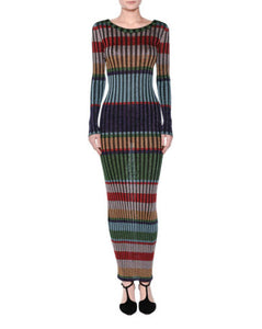 Missoni Striped Lame' Maxi Dress