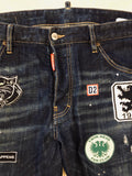 Dsquared2 Patch Cool Guy Denim jeans Sz 36