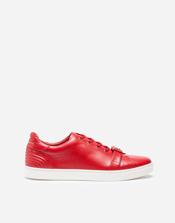 Dolce & Gabbana Red London Sneakers Sz 11