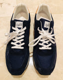 Louis Vuitton Mesh Suede Blue Sneakers Sz 12