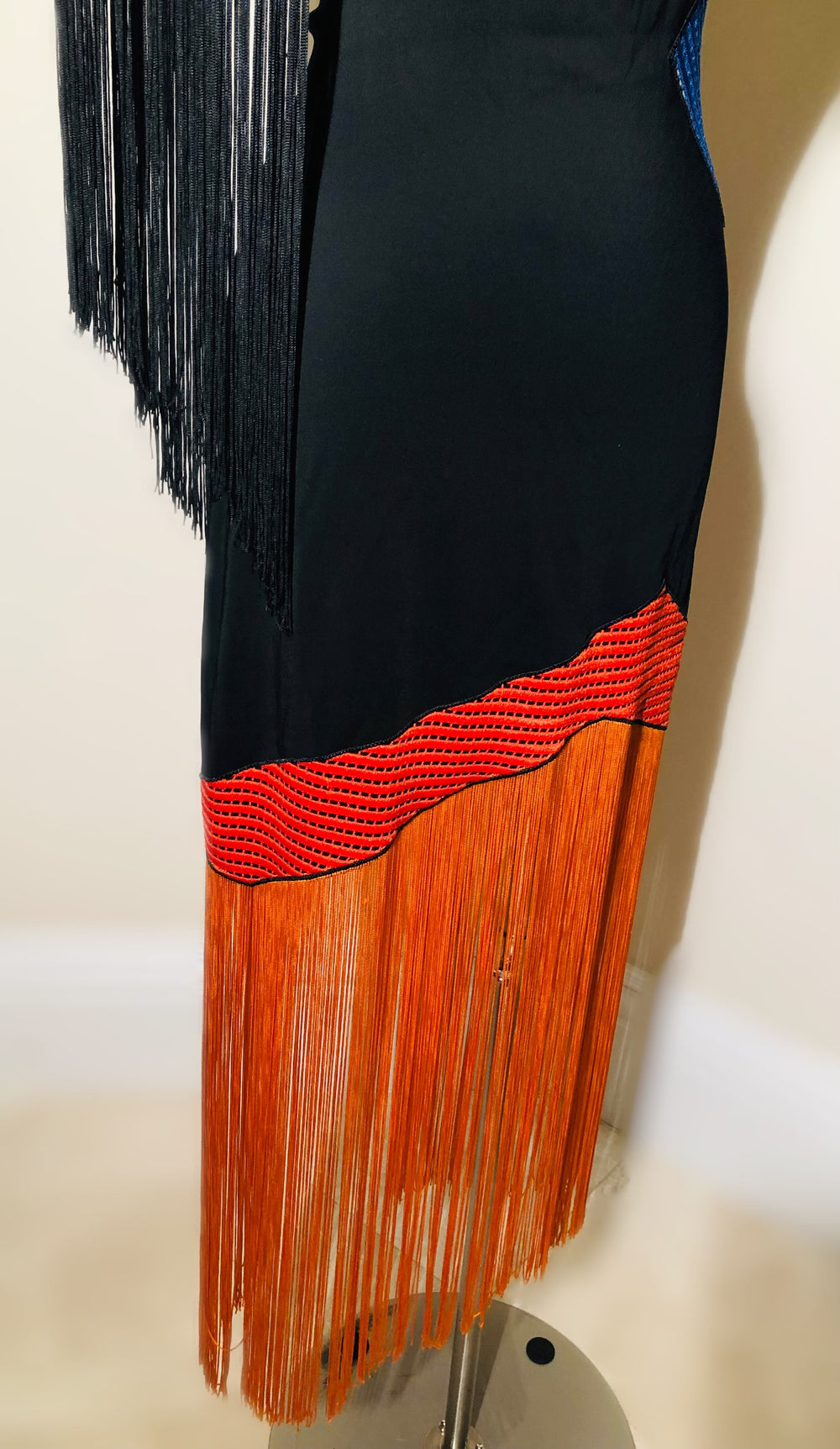 Christopher Kane Fringe Motif Dress Sz Sm