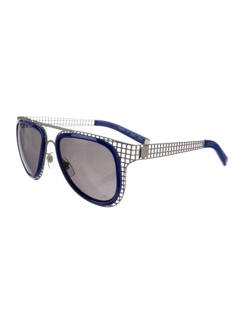 Louis Vuitton Caged Blue/ Metal Sunglasses