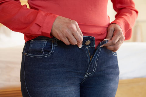 tight jeans after weight gain