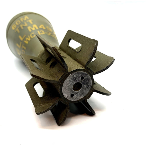 U.S. WWII M49A2 Replica Dummy Mortar Shell with M52 Fuses - Marshall's Arsenal