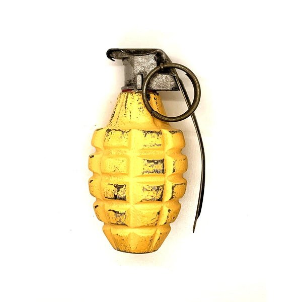WWII MK 2A1 - Early War Yellow - Replica Hand Grenade - Marshall's Arsenal