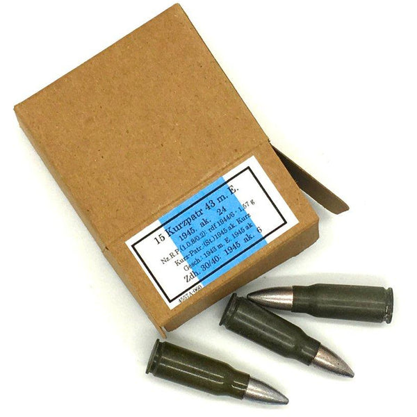Reproduction Cartridge Boxes with Replica Dummy Ammo - Marshall's Arsenal