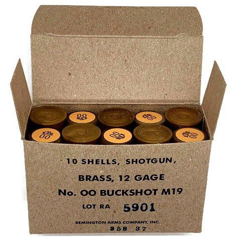 U.S. M19 Replica Shotgun Shells & WWII Reproduction Box - Marshall's Arsenal