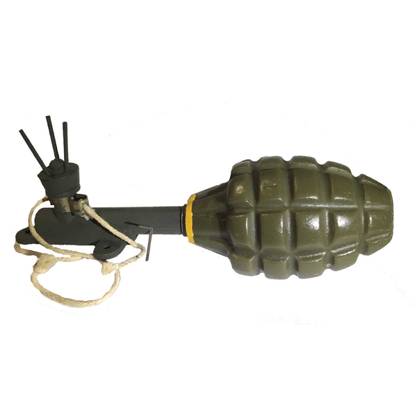 WWII MK 2A1 Early War Yellow/Orange - Replica Hand Grenade - Marshall's Arsenal