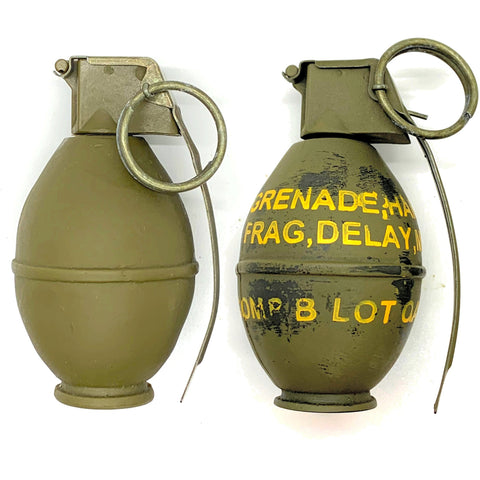 "U.S. M26 ""Lemon"" - Replica Hand Grenade - Marshall's Arsenal"