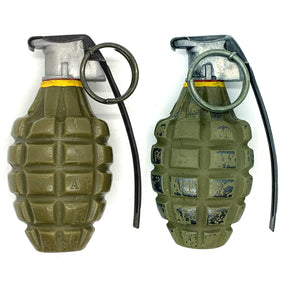 WWII MK 2 Mid-War Stripe - Replica Hand Grenade - Marshall's Arsenal