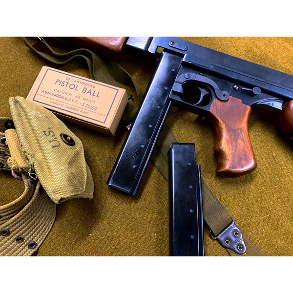 U.S. Thompson SMG - 20 & 30 Rnd Replica Dummy Magazine Prop - Marshall's Arsenal
