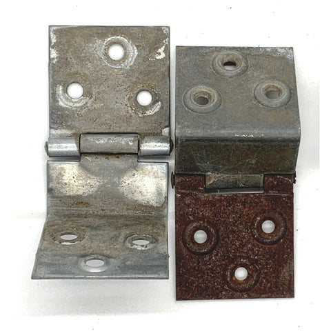 Hinge Set - Original Military Box & Crate Hardware - (2 Hinges) - Marshall's Arsenal