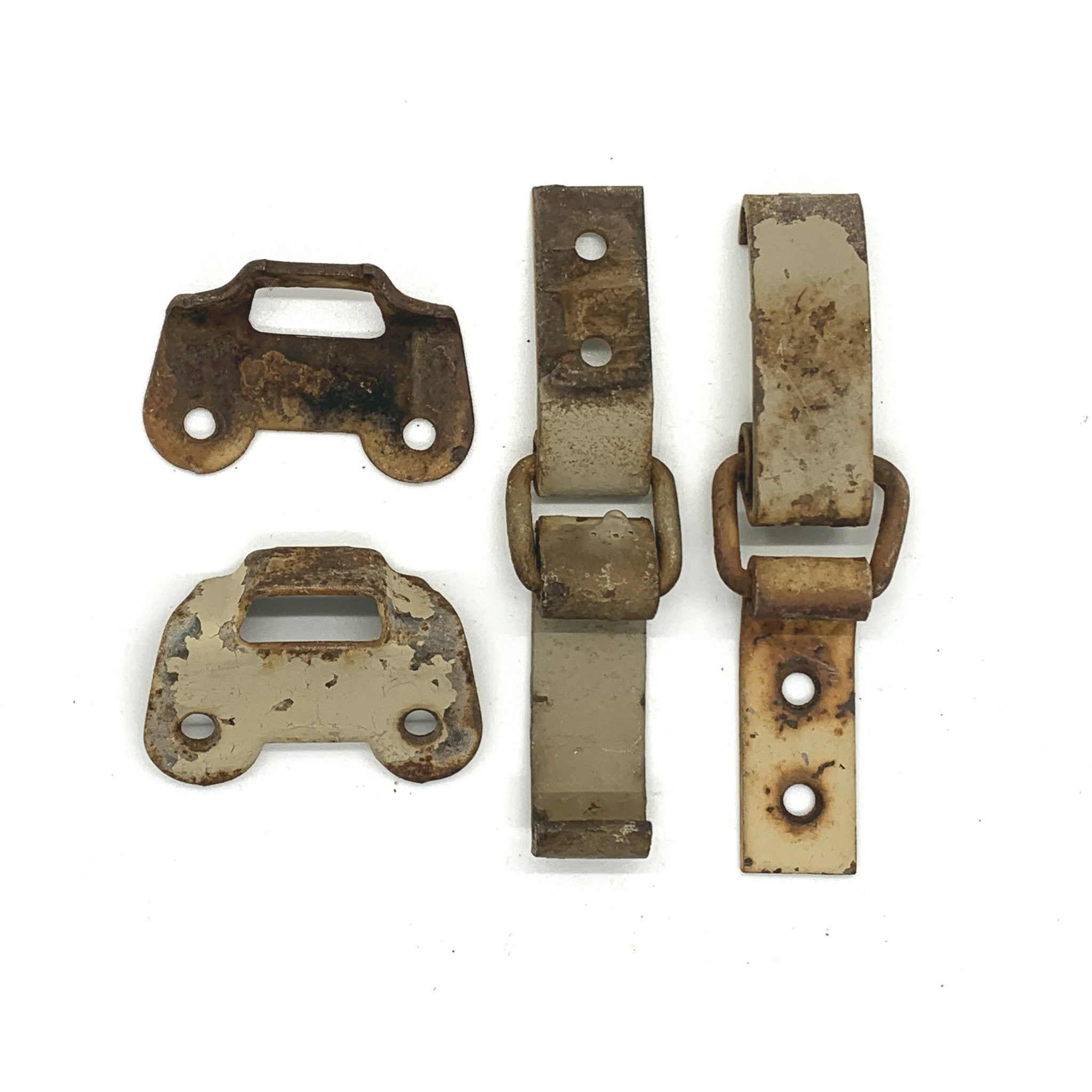 Toggle Latch & Hasp Clamp Set (4 Pieces) - Original Military Box & Crate Hardware - Marshall's Arsenal