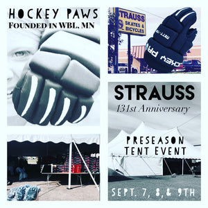 Strauss Preseason Tent Event