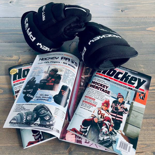 Hockey Paws featured in Minnesota Hockey Magazine