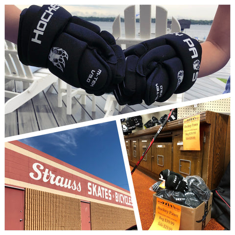 Strauss Hockey Paws Gloves