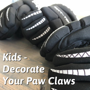 Decorate Hockey Gloves Hockey Paws Youth Gloves Mittens