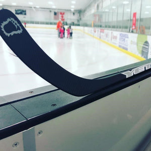 Youth Carbon Hockey Stick Yeti Hockey Sticks and Grips