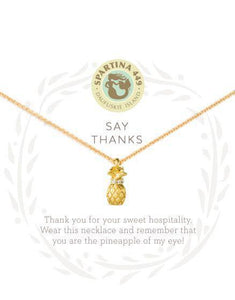 SLV Thanks Necklace - Pineapple