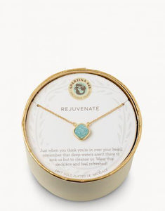 SLV Rejuvenate Necklace - Sea Foam Druzy