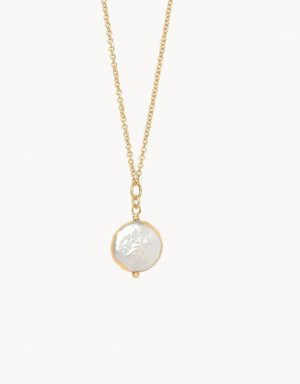 SLV Survivor Necklace - Coin Pearl
