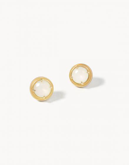 Crema Stud Earrings